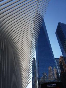 World Trade Center as seen through the Oculus ...