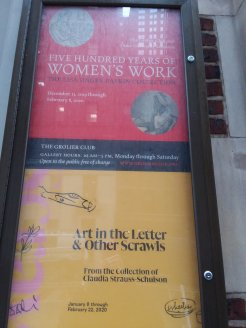All my years in NYC, and I didn't know the Grolier Club existed