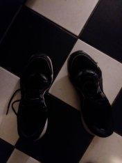 running (?) sneakers